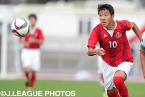 攻撃の要となる森晃太(名古屋グランパスU18)の活躍も期待される。