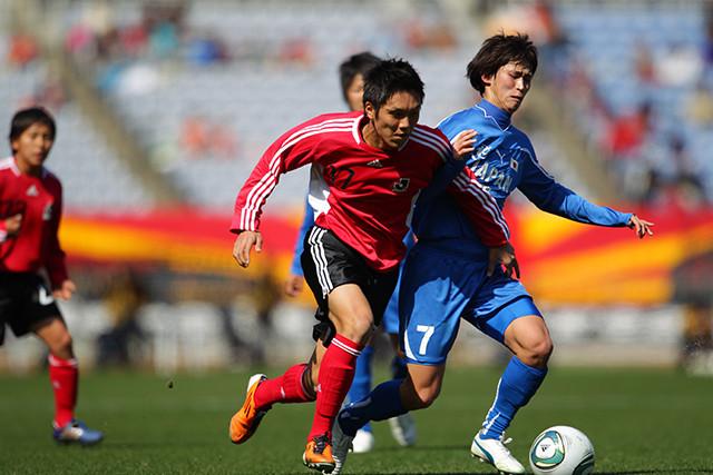 久保(京都U-18)の先制ゴールで勢いに乗ったJリーグ選抜が、高校選抜に競り勝った