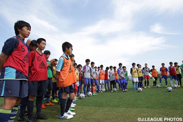 J.League U-13, U-14 selections...