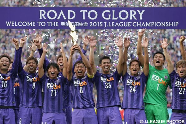 Douglas treble crowns Sanfrecce second-stage winners