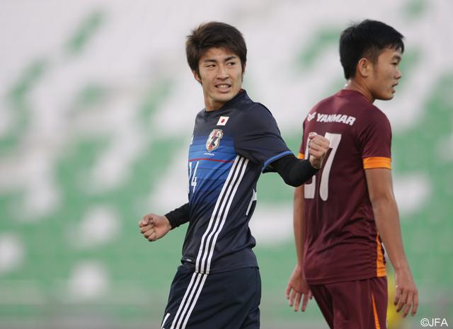 【U-23日本代表】国際親善試合でU-23ベトナム代表に勝利