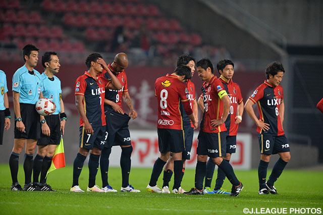 前回覇者の鹿島は湘南に2-3の逆転負けを喫し、2試合を残しての敗退が決定した