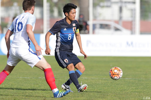 Japan U23 fall to England in Toulon finale