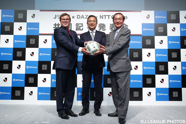 J.League signs 10-year broadcast contract with DAZN