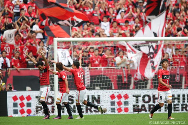 興梠のハットトリックの活躍もあり浦和がFC東京に快勝した