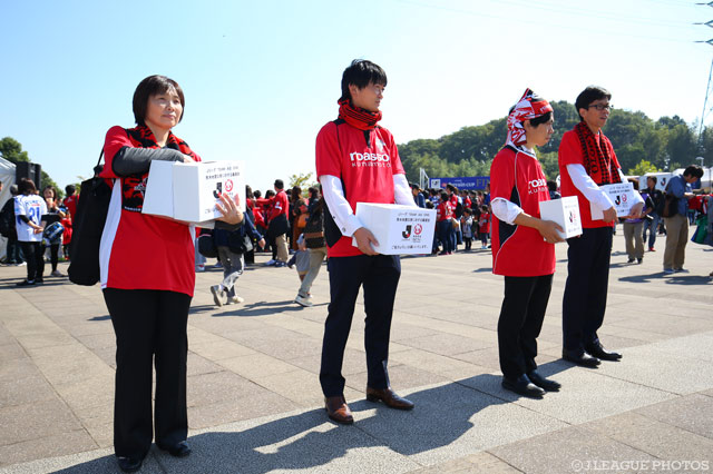 Levian Cup Final attendees donate for Kumamoto