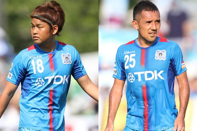 MF伊東とMF畑田の契約満了を発表【秋田】