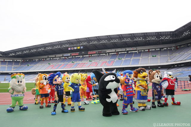Jクラブマスコットが大集合 来場マスコット第一弾を発表!【FUJI XEROX SUPER CUP 2017】