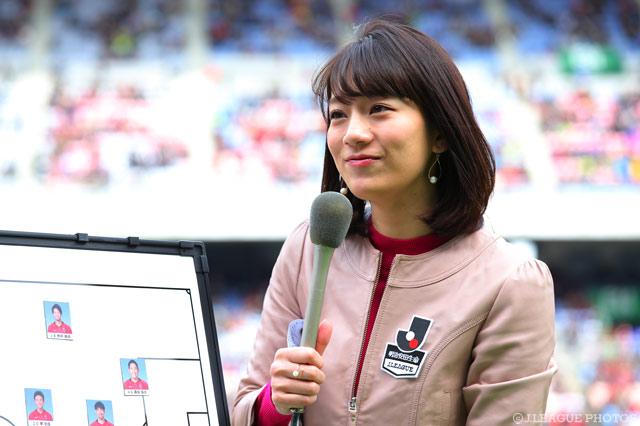 2/25(土)NHK総合で放送 鹿島vsFC東京にサトミキが出演!【明治安田J1 第1節】