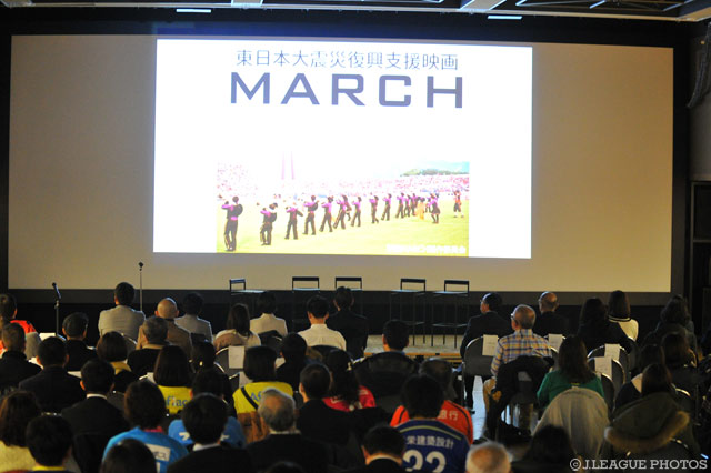 J.League-backed documentary takes film festival prize