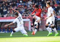 Reds roar to Cerezo win