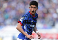 F. Marinos striker Togashi out for three weeks