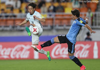 Japan U-20s overcome by Uruguay