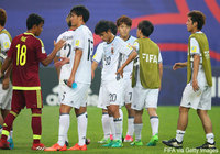 Japan U-20 defeated by Venezuela in Round of 16