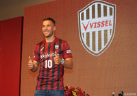 Podolski unfazed by Vissel pressure as he aims to improve J.League