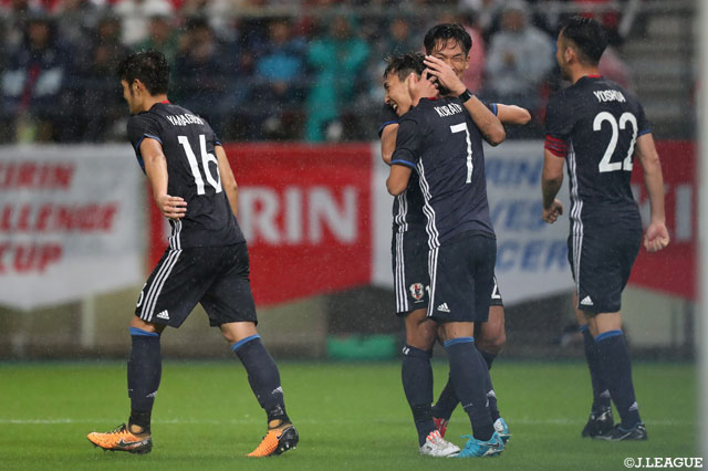 Japan down plucky New Zealand in Kirin Cup
