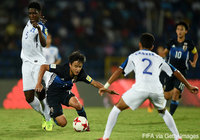 Nakamura hat-trick propels Japan U-17s to opening win