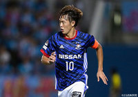 Frontale sign F. Marinos captain Saito