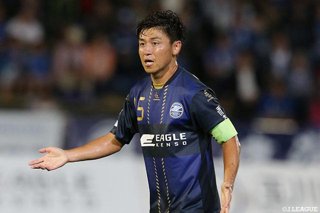MF井上が今季のキャプテンに就任【町田】