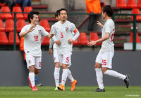 Nakajima scores in national team debut to give Japan 1-1 draw against Mali
