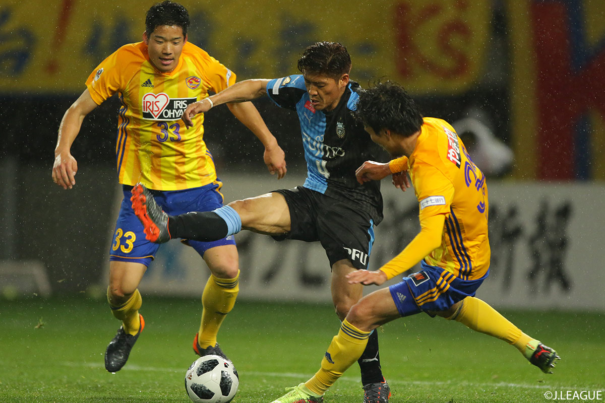 Vegalta Sendai stay in second after Kawasaki Frontale point