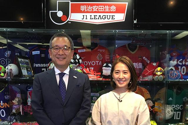 5/22(火)23:40~放送 フジテレビ系「FNNプライムニュースα」に、村井チェアマンが出演!【放送告知】