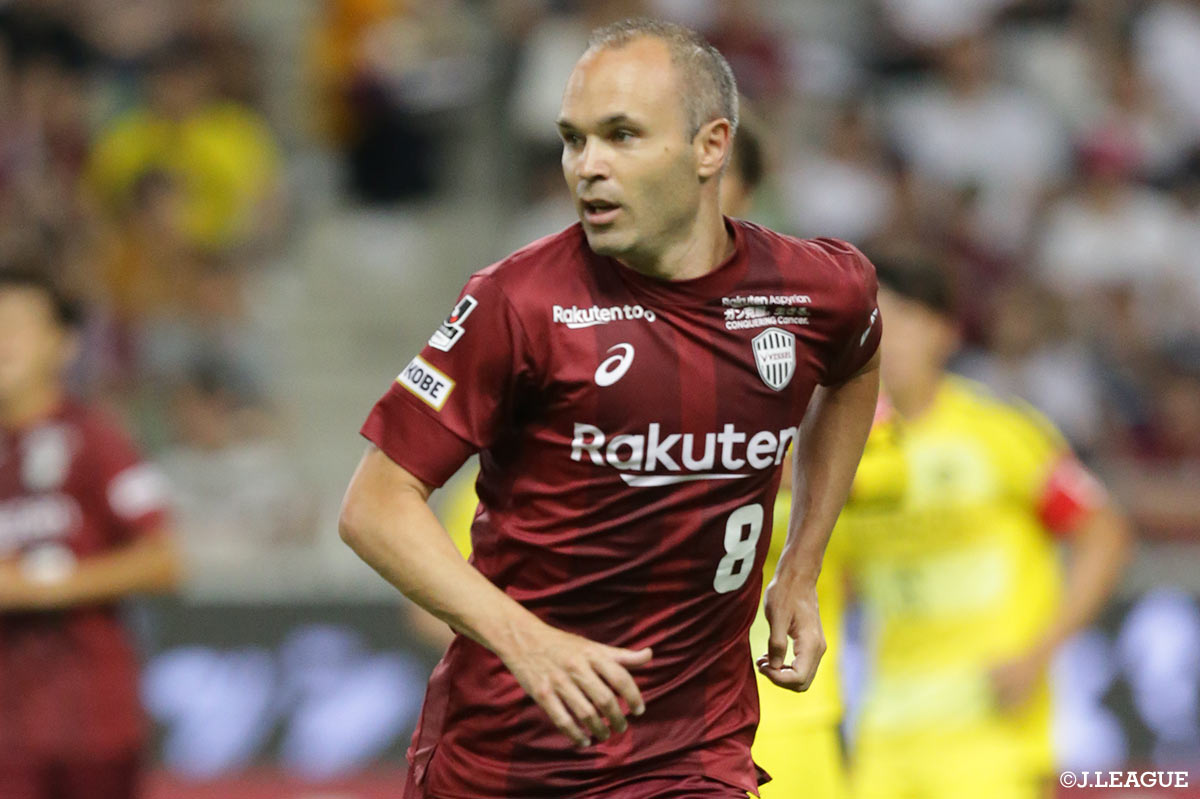 Iniesta & Torres make first J.League starts