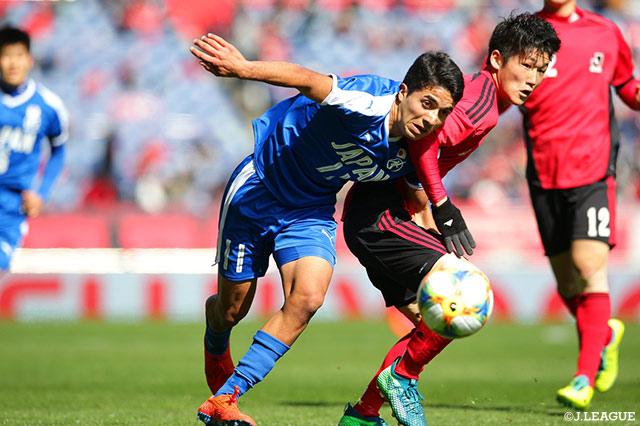 U-18 Jリーグ選抜が先制も土壇場で日本高校サッカー選抜が追いつきドロー【サマリー:NEXT GENERATION MATCH】