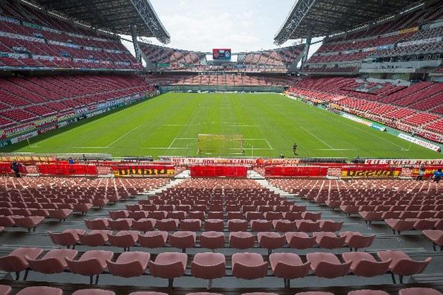 豊田スタジアムにおいて、無料Wi-Fi「GRAMPUS FREE Wi-Fi」の提供を開始