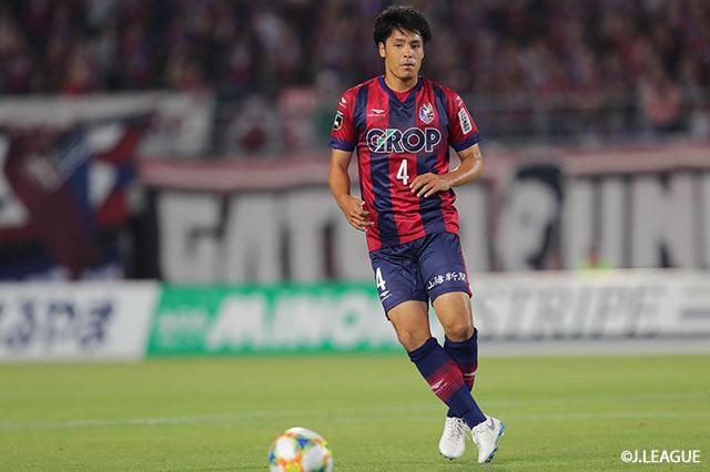 DF濱田ら3選手の負傷を発表【岡山】