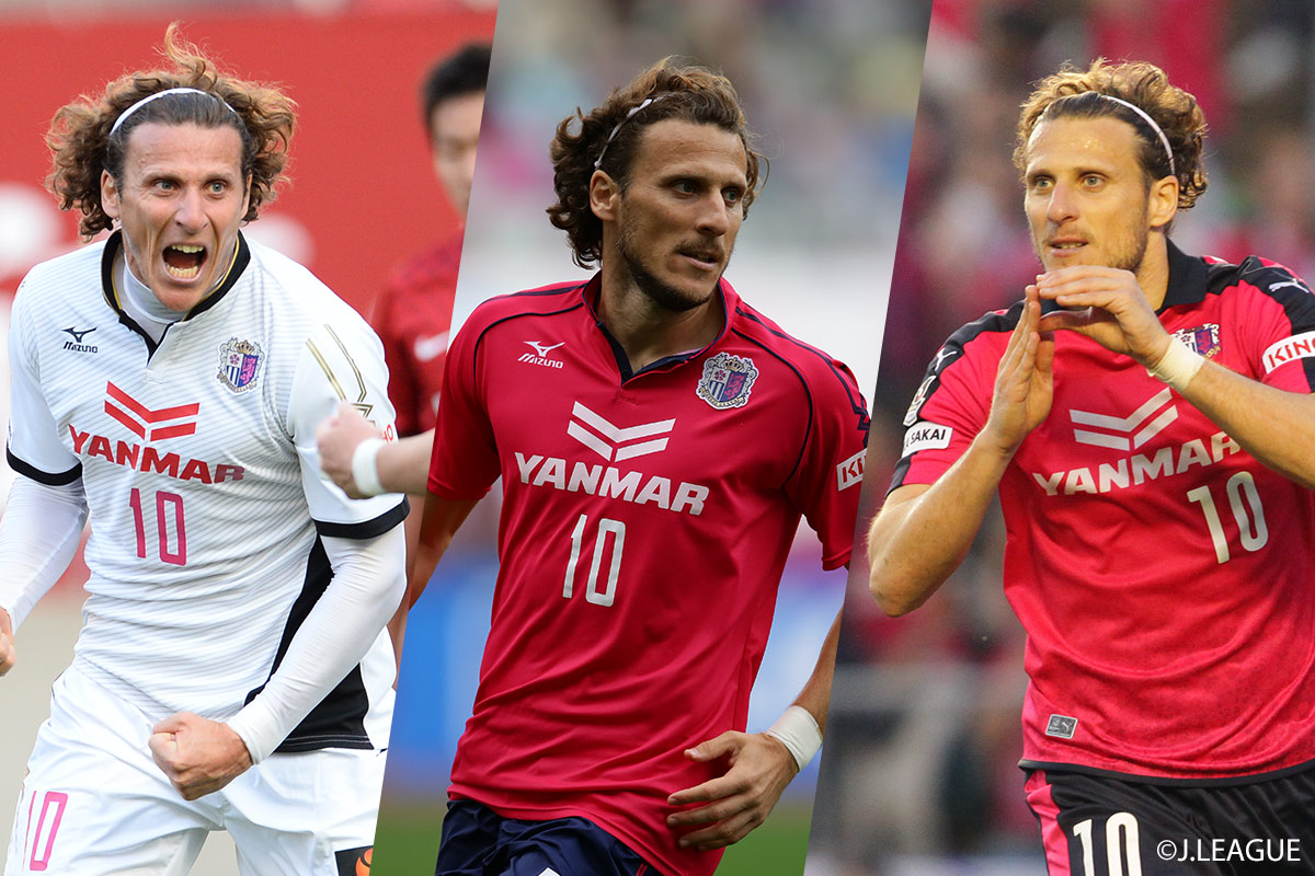 Introducing the J.League Legends. #4, Diego Forlan