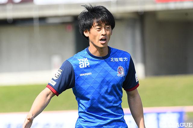 FW田中が現役引退を発表【富山】