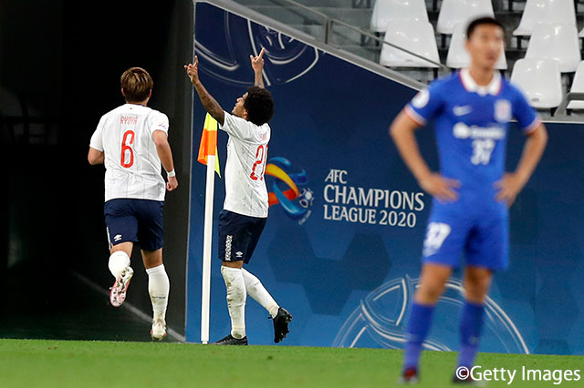 中2日の再戦で上海申花にリベンジ成功!FC東京は2位浮上でGS突破に望み【サマリー:ACL GS MD4】