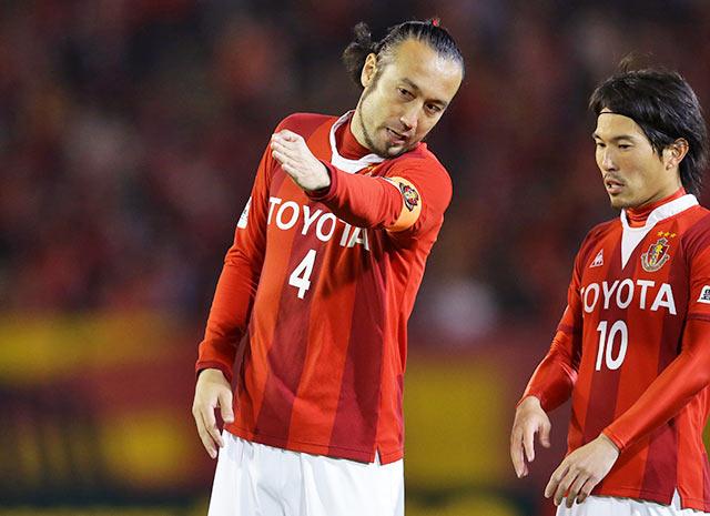 【YNC 予選リーグ 第4節 名古屋vs横浜FM】PKで決勝点を決めた田中(名古屋 #4)