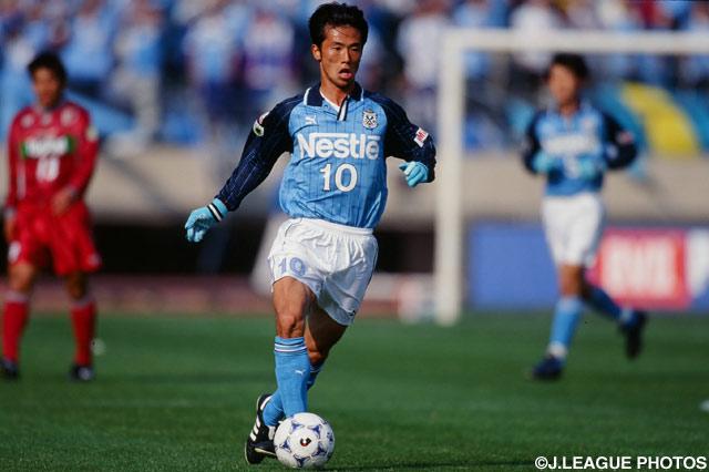 藤田 俊哉のゴールで磐田が先制した【1998年 磐田vs鹿島】