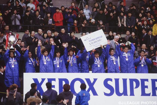 したたかさを発揮した鹿島が大会3連覇を達成【1999年 鹿島vs清水】