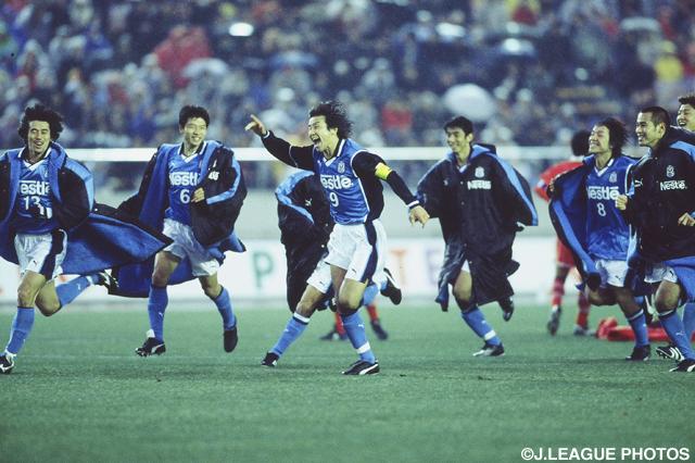 雨中の一戦はPK戦の末に磐田に軍配が上がった【2000年 磐田vs名古屋】