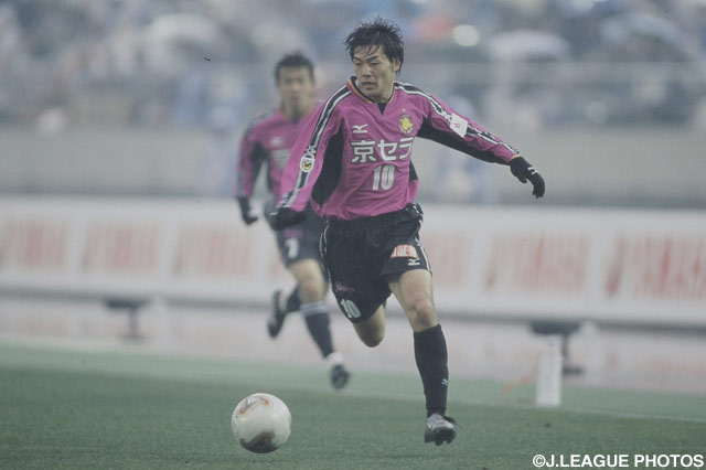 孤軍奮闘の松井 大輔(京都)【2003年 磐田vs京都】