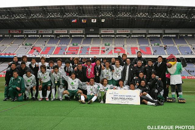 伝統のライバル対決を制した東京V【2005年 横浜FMvs東京V】
