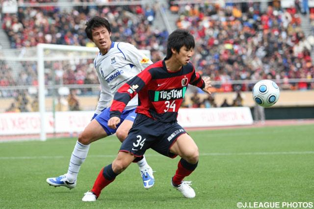 ルーキーの大迫 勇也(鹿島)が終了間際にプロデビュー【2009年 鹿島vsG大阪】