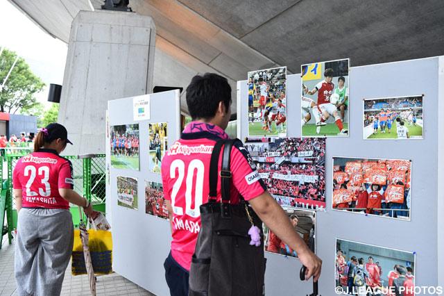 ロアッソ熊本写真展が開催されました(2016年7月3日)