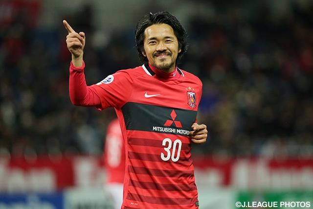 浦和加入後も3年連続二桁得点を記録するなど変わらぬ活躍を見せる興梠