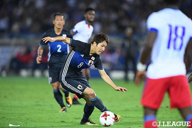 日本vsハイチの画像(代表親善試...