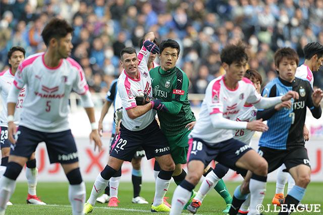 試合終了間際まで、熱い試合を繰り広げた両チームのメンバー【FUJI XEROX SUPER CUP 2018】