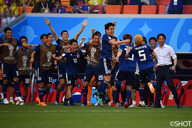 コロンビアvs日本戦のフォトを公開!【2018FIFAワールドカップ ロシア】