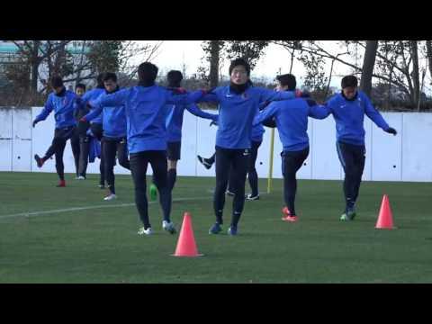 欧州王者との決勝に臨む鹿島 試合前々日トレーニングの模様