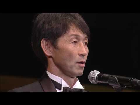 最優秀監督賞に輝いた鹿島アントラーズの石井 正忠監督スピーチです