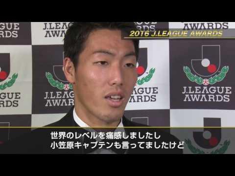 ベストイレブン 昌子 源(鹿島)「監督やスタッフやチームメイトに感謝したい」