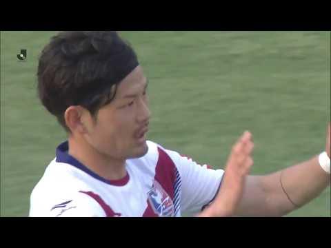 日曜日に行われた試合のハイライト・ゴール動画を公開【J2】