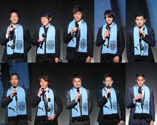 [ [ 川崎F:2015年新体制発表会見 ] ] | J's GOAL | フォトニュース